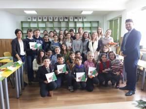 Povești englezești, traduse de studenţii USV, pentru elevii de la Dumbrăveni