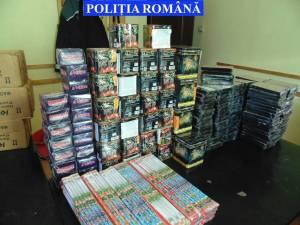 Articole pirotehnice confiscate