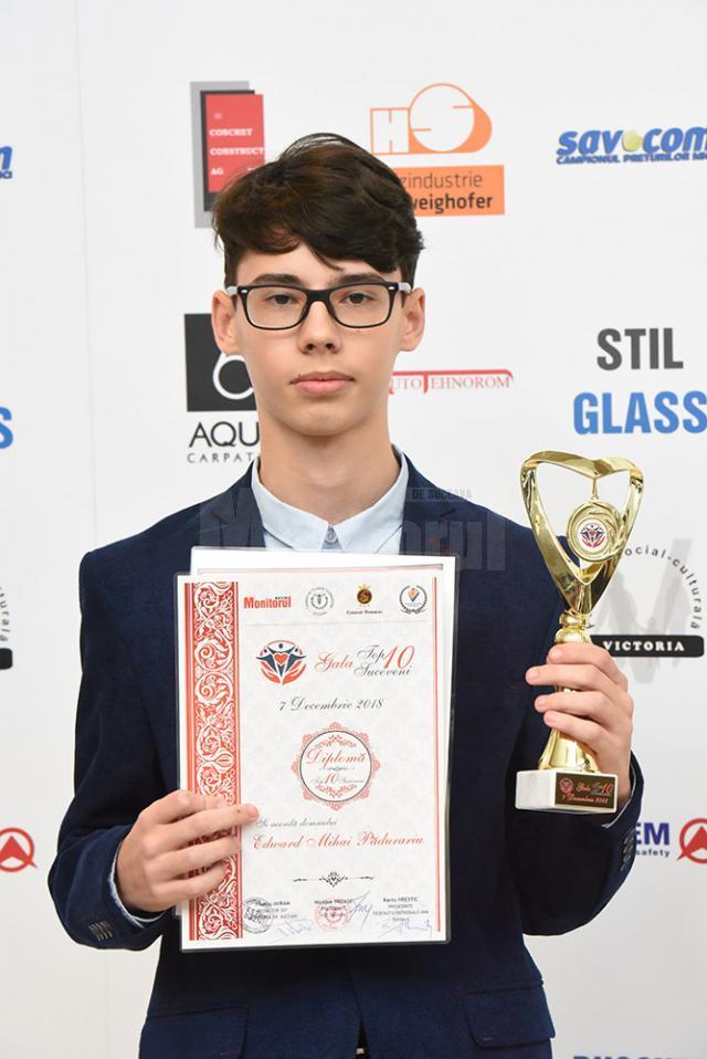 Edward Mihai Pădurariu, cel mai bine cotat adolescent sucevean din peisajul şahului românesc