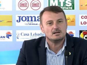 Președintele clubului Poli Iași, Adrian Ambrosie. Foto: www.fanatik.ro