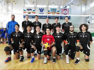 Echipa de volei juniori I LPS CSS Suceava a terminat anul cu victorii pe linie