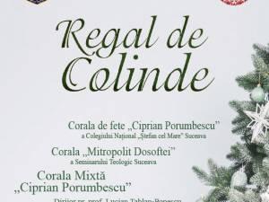 """""""Regal de Colinde"""", joi, la Casa de Cultură Suceava"""