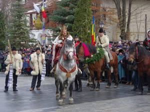 Malanca lui Ştefan cel Mare a fost una dintre atracţiile paradei