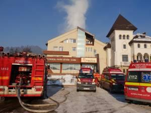 Incendiu în această dimineaţă la un azil de bătrâni din Vama