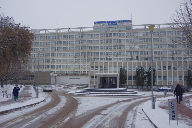 """Spitalul de Urgență """"Sfântul Ioan cel Nou"""" din Suceava"""