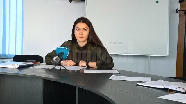 Bianca Bighiu, purtător de cuvânt DSP Suceava
