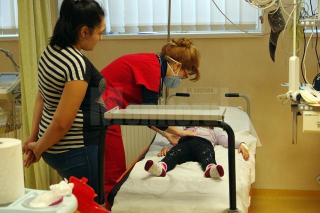 Consultaţie copii la UPU Pediatrie, Spitalul de Urgență Suceava
