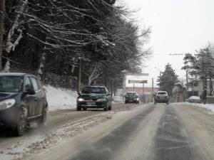 Circulaţia rutieră este deschisă pe toate drumurile din judeţul Suceava