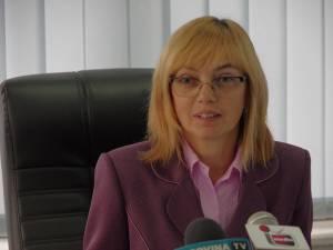 Directorul Direcţiei de Sănătate Publică Suceava, dr. Liliana Grădinaru