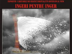 """""""Îngeri pentru înger"""", expoziție caritabilă de grafică digitală la Biblioteca Bucovinei"""