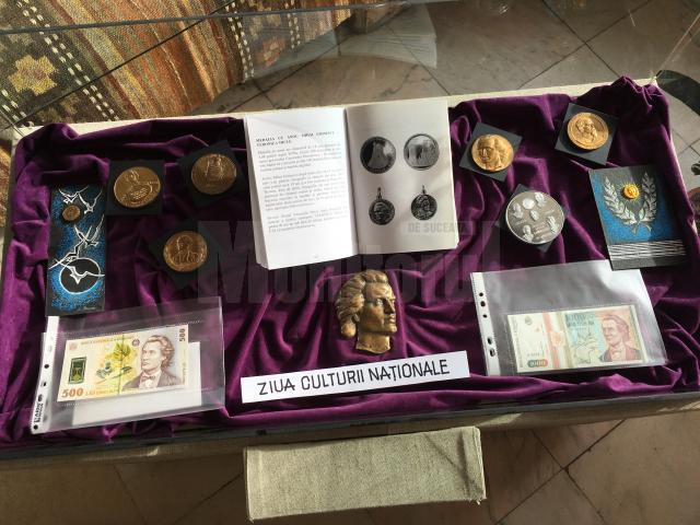 Expoziţii dedicate poetului Mihai Eminescu, marţi, la Gura Humorului