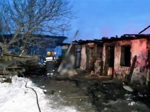 Un bătrân a murit într-un incendiu care a cuprins casa în care locuia, din satul Mitocaș