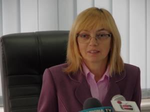Directorul executiv al Direcției de Sănătate Publică Suceava, dr. Liliana Grădinaru
