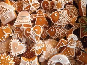 Figurine de turtă dulce. Foto: pinterest.com