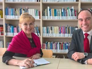 Sanda-Maria Ardeleanu și Eric Poppe