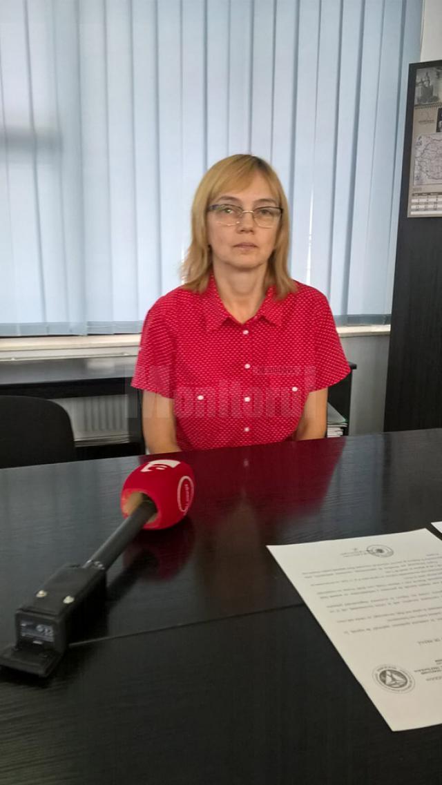 Directorul executiv al DSP Suceava, dr. Liliana Grădinaru