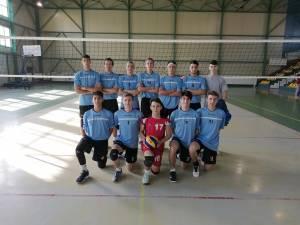 Echipa de volei juniori LPS CSS Suceava
