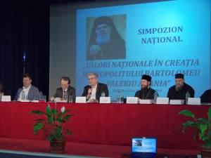 """Simpozionul Naţional """"Valori Naţionale în creaţia Mitropolitului Bartolomeu Valeriu Anania"""", la Sala Auditorium """"Joseph Schmidt"""""""
