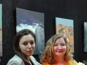 Delia Leizeriuc și Diana Dimitriu