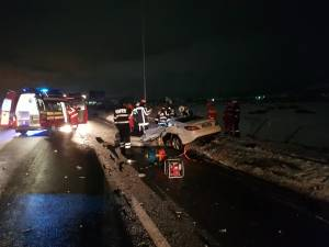 Imagine de coșmar de la locul accidentului foto stiridecluj.ro