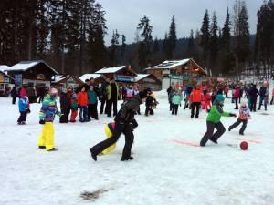 World Snow Day, un eveniment internaţional, la Vatra Dornei
