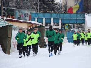 Mulţi tineri jucători la reunirea Forestei