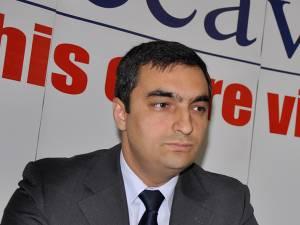 Preşedintele executiv al CCI Suceava, Lucian Gheorghiu