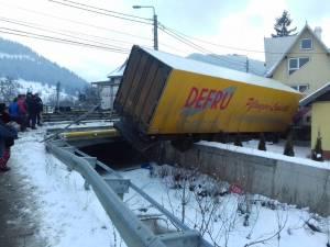 Accidentul putea avea consecințe mult mai grave