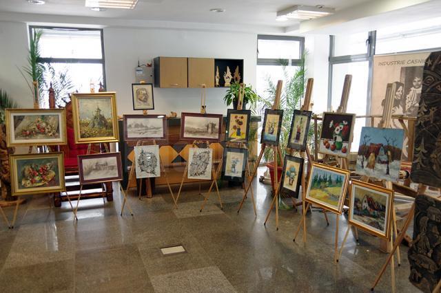 """Expoziţia de pictură """"In memoriam Tiberiu Cosovan"""""""