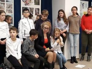 Activitatea a fost organizată de Ziua Internațională a Cititului Împreună