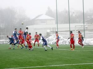 Şomuz a câştigat cu 3-1 amicalul cu FC II Botoşani. Foto Cronica de Falticeni