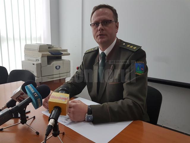 Mihai Gășpărel, inspectorul-șef al Gărzii Forestiere Suceava