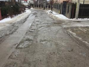 Strada Rulmentului arată ca după bombardament