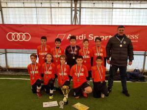 Juniorul Suceava a câştigat locul doi la Braşov Indoor Cup