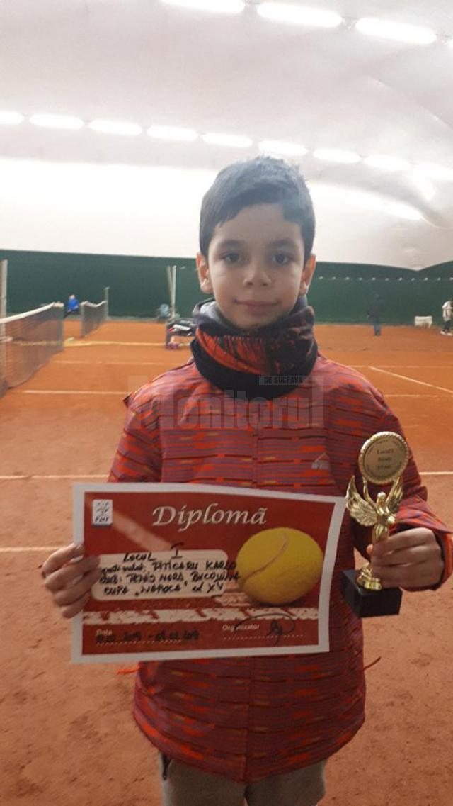 Karlo Piticaru a câştigat Cupa Napoca