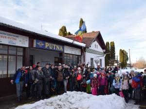 Cercetaşii din Suceava au petrecut patru zile în ţinuturile Putnei, în tabăra de iarnă