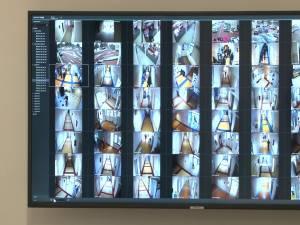 60 de camere video în interior şi 7 în exteriorul Spitalului de Urgenţă Suceava, cu monitoare în birourile directorilor