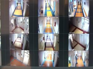 Sistem de supraveghere video în spital