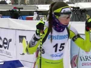 Biatlonista Andreea Mezdrea a fost desemnată purtătorul de drapel al României