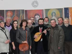"""Expoziţia de pictură """"Armonii liturgice"""" a cunoscutului artist Konstantyn Ungureanu Box"""