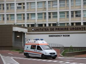 Cei doi au ajuns la Urgenţele Spitalului Suceava