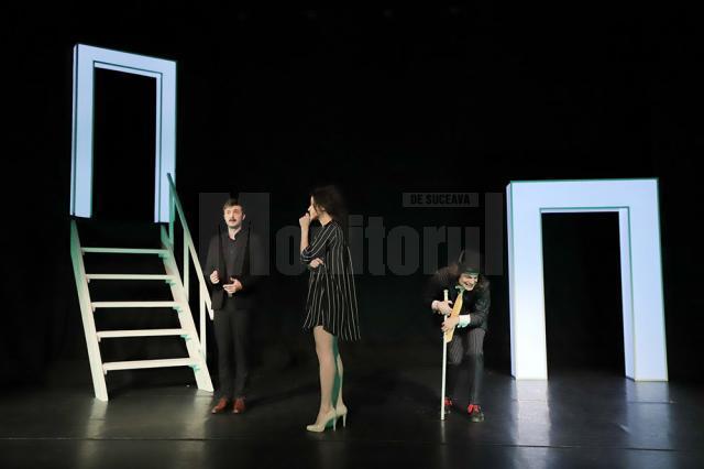 """Prima punere în scenă, la nivel național, a piesei de teatru """"Portretul"""", de Sławomir Mrożek"""
