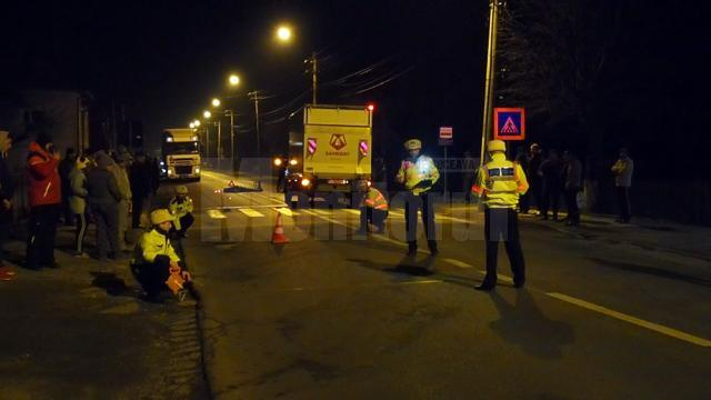 Un bărbat a fost călcat pe o trecere de pietoni în Câmpulung Moldovenesc