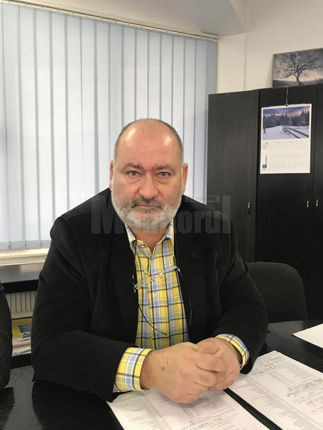 Dr. Dinu Sădean, șeful Serviciului Control în Sănătate Publică din cadrul DSP