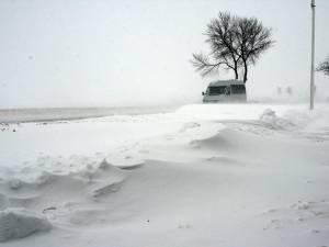 Cod galben de zăpadă şi viscol pentru zona montană a judeţului Suceava