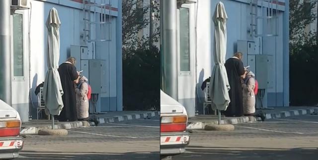 Spovedania din benzinărie, cea mai trăsnită ispravă a falsului preot, originar din Suceava