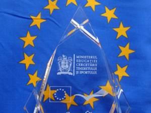 """5.000 de lei și certificatul de """"Şcoală Europeană"""", pentru unitățile cu cele mai interesante programe europene"""
