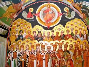 Să îi imităm în smerenie pe sfinţi!