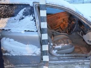 Opt focuri de armă pentru interceptarea unui Mercedes încărcat cu ţigări de contrabandă