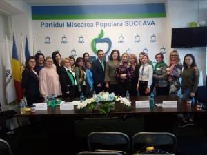 Femeile din PMP Suceava şi-au ales noua conducere